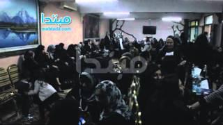 بالفيديو: انشغال السيدات بالضحك فى عزاء الشاذلى