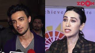 MeToo India: Aayush Sharma & Karisma Kapoor REACT to controversies - ZOOMDEKHO