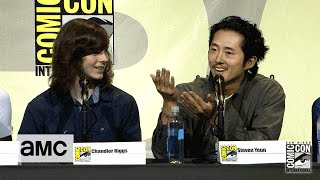 The Walking Dead: Season 7 Comic-Con Panel Highlights: Steven Yeun Talks Issue 100 - AMC