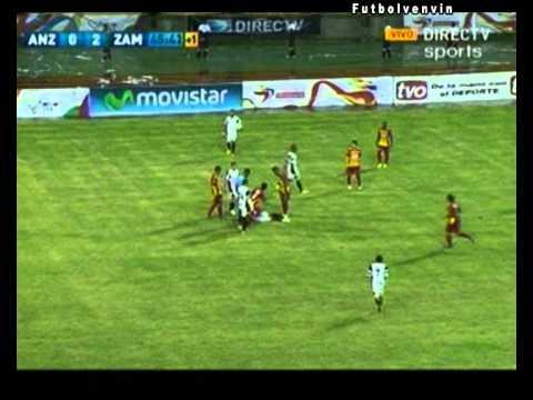 Deportivo Anzoategui 1-2 Zamora Barinas