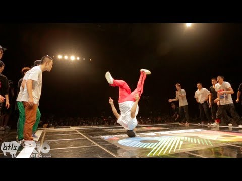 Massive Monkees USA vs Jinjo Crew KOREA | R16 bboy crew semi-final battle 2012 | YAK FILMS