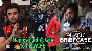 "Maniesh Paul didn't talk to his WIFE while filming ""Black Briefcase"" - BOLLYWOODCOUNTRY"