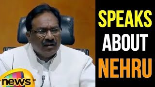 Bizay Sonkar Shastri Speaks About Rahul Gandhi's Fast And About Nehru | Mango News - MANGONEWS