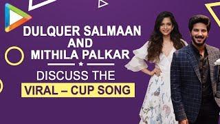 Dulquer Salmaan & Mithila Palkar discuss the VIRAL –CUP song | Karwaan - HUNGAMA