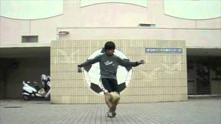 ダブルスイッチオーバー freestyle football Double Switch Over