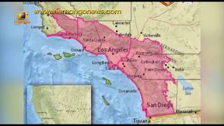 The Rampant Fire Burning Just North Of Los Angeles | Mango News - MANGONEWS
