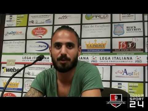 Angelo Bencivenga 16-10-2014 - Foggia Calcio