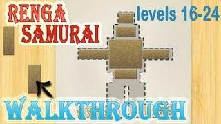 renga samurai walkthrough 16-24