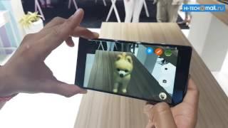 Lenovo PHAB2 Pro – демонстрация дополненой реальности