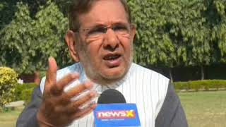 NewsX Exclusive: Sharad Yadav speaks over the release of the film Padmaavat - NEWSXLIVE