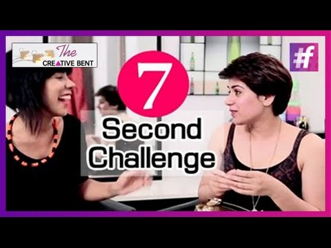 7 Second Challenge - The Creative Bent