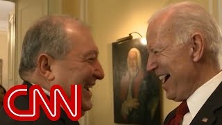 World leader puts Biden on the spot - CNN
