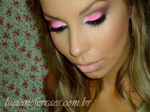 Maquiagem rosa para o verão, com Luciane Ferraes