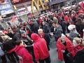 28 Nentor, 2012 - 100 Vjetori i pavarsise Shqiperise, Times Square, New York !