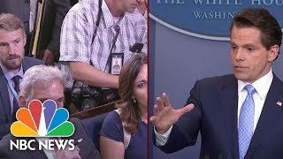 Anthony Scaramucci Dodges Question On Donald Trump's Voter Fraud Claims | NBC News - NBCNEWS