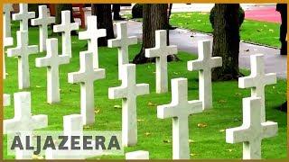 🇫🇷Macron urges world leaders to 'fight for peace' on WWI centenary | Al Jazeera English - ALJAZEERAENGLISH