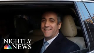President Donald Trump Ignores Questions About Michael Cohen's Sentencing | NBC Nightly News - NBCNEWS
