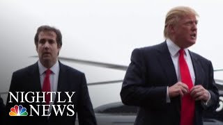 President Donald Trump Denies He Ordered Micheal Cohen To Break The Law | NBC Nightly News - NBCNEWS