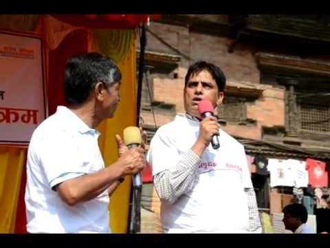 Madan Bahadur - Hari Bahadur on Kidney Walk (Awareness Campaign)