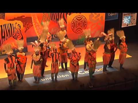 La agrupación Afrika llega al COAC 2014 en la modalidad de Comparsas. Primera actuación de la agrupación para esta modalidad.