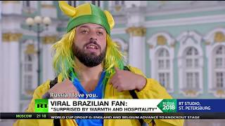 Brazilian fan goes viral for his fluent use of some special Russian words - RUSSIATODAY