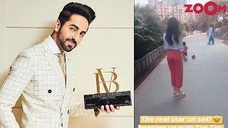 Ayushmann Khurrana wins big at Brand Vision Summit awards | Kiara has fun time with Taimur & more - ZOOMDEKHO