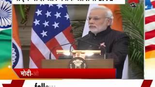 PM Modi, US Prez Barack Obama's joint press interaction- Part 2 - ZEENEWS