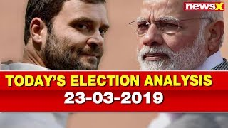 Lok Sabha Elections 2019: PM Narendra Modi vs Rahul Gandhi, BJP vs Congress, Election Analysis - NEWSXLIVE