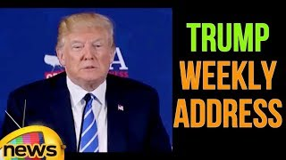 US President Donald Trump Weekly Address & Democratic Response | Mango Newws - MANGONEWS