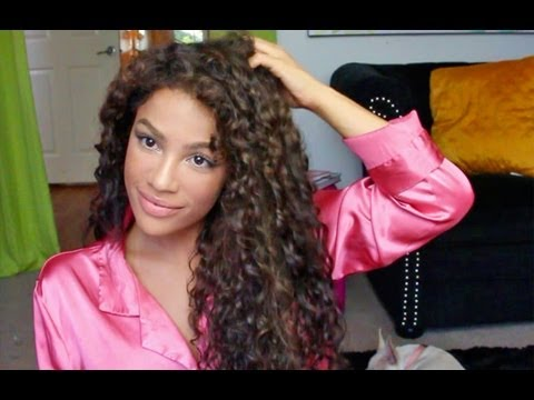 How to Style Curly Hair!