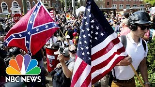 Why The Symbols Of White Hate In Charlottesville Look So Familiar | NBC News - NBCNEWS