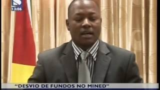 Fraude MINED: GCCC diz que MINED participou desvio de apenas 5 milhes Mt