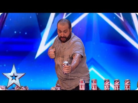 Strong man Dimitar shows the Judges a smashing time | Britain's Got More Talent 2017