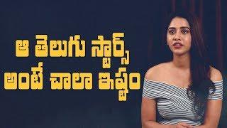 That's why I like those Telugu stars so much: Nabha Natesh || Nannu Dochukunduvate - IGTELUGU