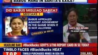 #SupportSaritaCampaign: Was medal protest staged by babus? - NEWSXLIVE
