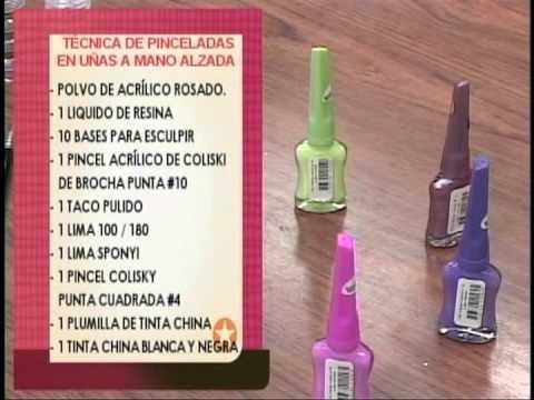 IDEAS PARA TI CON JESSICA PEÑA Y JENNYFER VALERA PINCELADAS EN UÑAS A MANO ALZADA PARTE 1