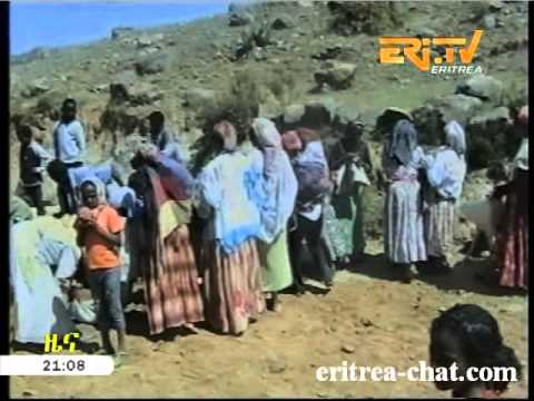 Eritrean TV   News   Street   Road Building in Gurah - HQ
