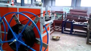 Линия производства труб капельного орошения с цилиндрическим