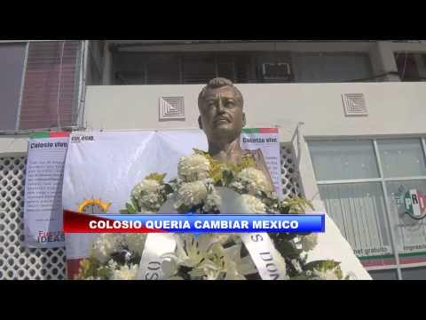 HOMENAJE LUCTUOSO A LUIS DONALDO COLOSIO A 19 AÑOS DE SU MUERTE, PRI