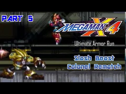 Mega Man X4 - Ultimate Armor Run Part 05 | Too Much Gaming