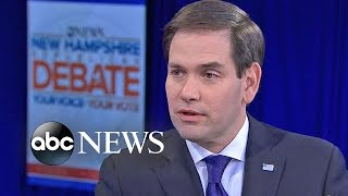 Rubio Defends Repeated Attack on Obama: 'I'm Going to Keep Saying It' - ABCNEWS