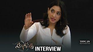 Tamannaah Exclusive Interview About Abhinetri Telugu Movie | Live | Prabhu Deva, Amy Jackson | TFPC - TFPC