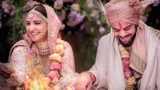 Anushka Sharma Virat Kohli FULL WEDDING VIDEO | అనుష్క శర్మ విరాట్ కోహ్లి పెళ్లి వేడుక - RAJSHRITELUGU