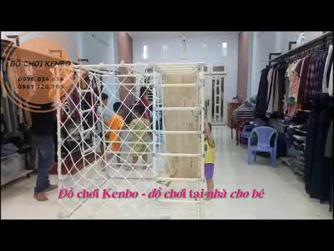Lắp đặt xà đu Kenbo cho gia đình chị Thư (Thuận An, BD)