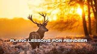 Royalty FreeHoliday:Flying Lessons for Reindeers