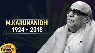 Karunanidhi Life Journey | #Kalaignar Karunanidhi is No More | Karunanidhi Passes Away | Mango News - MANGONEWS