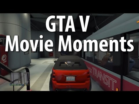 Infamous TV and Movie Scenes Recreated In GTA V