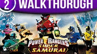 Power Rangers Super Samurai Walkthrough Part 2 Kinect