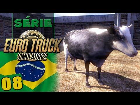 Euro Truck 2 Brasil - Transportando Gado