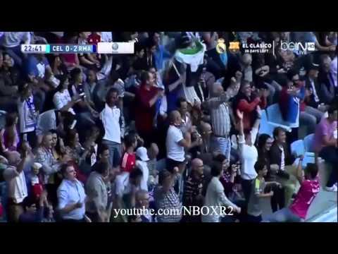 اهداف مباراة ريال مدريد وسيلتا فيغو 3 1 تعليق عصام الشوالي شاشة كاملة   YouTube